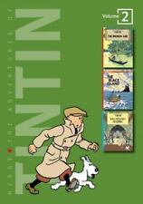 The Adventures of Tintin/3 Complete Adventures in 1 Volume by Herge (1994, Ha...