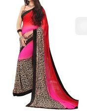 Varsha Fashions Beautiful Party Wear Premium Georgette Saree