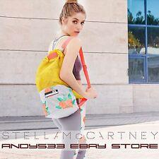 NEW adidas Stella McCartney STELLASPORT Sea Sack Backpack Bag Flower Print Women
