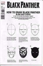 Marvel Comics BLACK PANTHER #166 first printing How To Draw variant