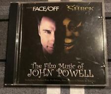 FACE/OFF & SHREK THE FILM MUSIC OF JOHN POWELL CD SOUNDTRACK PROMO