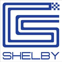 Magnet Shelby Square Racing Door Decal Sticker Car Truck Van 12in x 12in