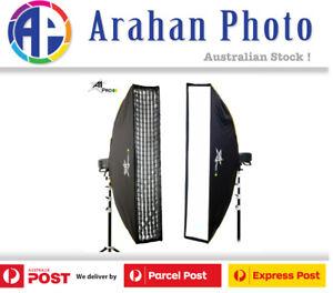 A1Pro 30x140cm umbrella style Quick Open StripBox SoftBox with Grid (Bowens)