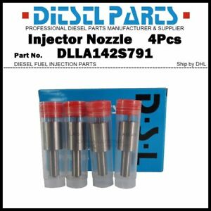 4x Injector Nozzle Tip DLLA150P1437 0433171889 for OPEL Astra Vauxhall Corsa 1.3