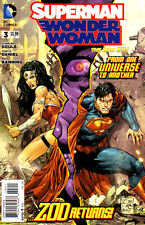 SUPERMAN/WONDER WOMAN #3 - New 52 - New Bagged
