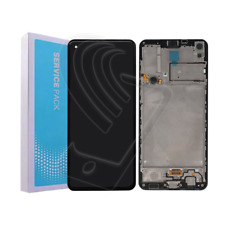 DISPLAY LCD ORIGINALE Samsung Galaxy A21S SM A217 F TOUCH SERVICE PACK + FRAME