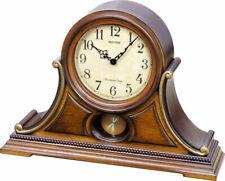 Rhythm Clocks Lancaster Musical Mantel Clock w/Harmonica Melodies (CRJ757UR06)