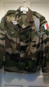 French Foreign Legion 2rep 4th company Para F2 Cce Combat Jacket Size 112 /44