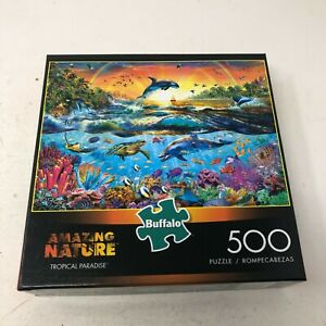 Buffalo Games - Amazing Nature Collection - Tropical Paradise - 500 Pc Puzzle