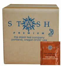 Stash Tea Chocolate Mint Oolong Tea, 100 Count Box of Tea Bags in Foil (packa...