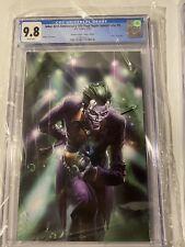 Joker 80th Anniversary Scorpion Crain virgin CGC 9.8, freshly graded DC