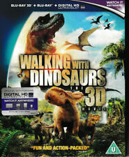 Walking with Dinosaurs 3D Blu Ray + blu ray + Digtal - Brand New & Sealed