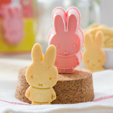 Miffy Cookie Fondant rabbit Cake Sugarcraft Choco Decorating Plunger Cutter Mold