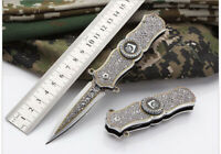 Tactical Fiexed Knife Folding Survival Outdoor Pocket Blade Open Stainless Knife