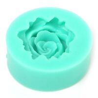 2x DIY Rose Flower Silicone Fondant Mold Cake Decoration Tools Chocolate Mould