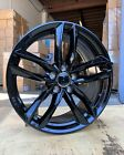 18x8 35 5x112 Gloss Black Wheels Fit Audi Volkswagen Mercedes Benz Set Of 4
