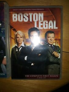 Boston Legal Complete Series DVD's  Set of 4