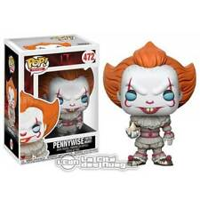 It 2017 POP! Pennywise - It with boat Vynil Figurine 10cm n°472 FUNKO