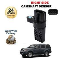 Pour NISSAN Pathfinder 4.0 i V6 6/2005 main droite capteur position arbre