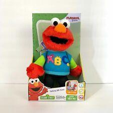 Sesame Street Talking ABC Elmo Figure Plush Toy - Learning Alphabet 18+ Months