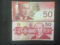 1988 2004 Canada two $50 Circulated Fine condition Bank Notes