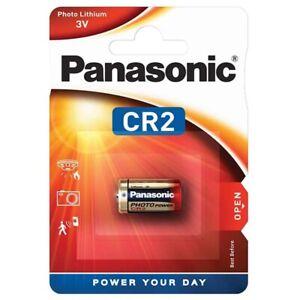 2x CR2 Foto-Batterie Lithium Photo von PANASONIC
