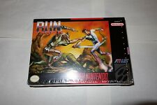 Run Saber (Super Nintendo Entertainment System SNES, 1993) NEW Factory Sealed