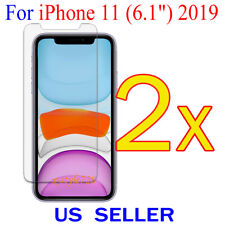 """2x Clear Screen Protector Guard Cover Film For Apple iPhone 11 ( 6.1"""" )  2019"""