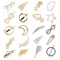 New Fashion Pearl Hairpin Hair Clip Snap Barrette Stick Hair Accessories Gifts