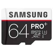 Samsung 64GB UHS-I PRO Plus Class 10 U3 MicroSDXC 95MB/s Micro SD Memory Card
