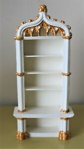2 OF 2 VINTAGE BOOK SHELVES BY SUE COOK FROM UK 1:2th