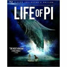 LIFE OF PI BLU RAY COLLECTORS EDITION- Brand New & Sealed- Fast Ship! HMV-443