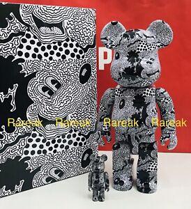 Medicom Bearbrick 2020 Keith Haring Disney Mickey Mouse 400% + 100% be@rbrick