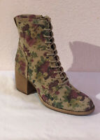 PATRICIA NASH Designs SICILY LEATHER Ankle Boots ANTIQUE ROSE SZ 9.5 $249