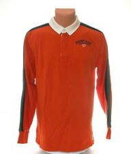 Polo Ralph Lauren Rugby Club Orange Long Sleeve Polo Shirt Youth Boy's XL NWT