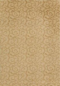 Modern Floral All-Over Oriental Area Rug Contemporary Turkish Ivory Carpet 6x9