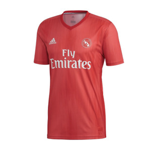 adidas Men's Real Madrid 18/19 Third Jersey - Real Coral/RedItem DP5445