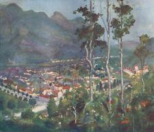 BRAZIL. Friburgo(Freiburg) Organ Mountains 1908 old antique print picture