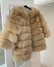 Real Fox Fur Jacket All Sizes Available
