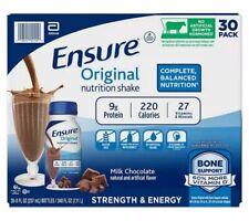 Ensure Original Nutrition Shake 8 fl. oz. 30-pack, Chocolate