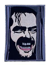 The Shining Patch NEW Iron on Badge Horror Movie Jack Nicholson Slasher Patches