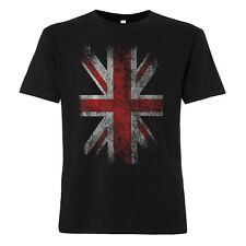 England Flagge T-Shirt Union Jack Vintage Great Britain Punk United Kingdom UK