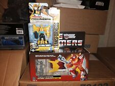 Transformers G1 Reissue Retro AUTOBOT HOT ROD Walmart Cyberverse Bumblebee lot