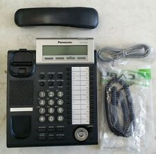 12 Available Panasonic KX-DT343-B  Corded Phone Black-Refurbished