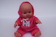 PINK TALKING BABY DOLL SPORTS TRACKSUIT - MAMA PAPA - REAL LIFE LOOKING