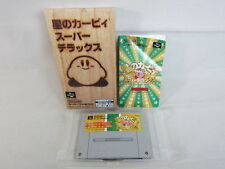 STAR KIRBY SUPER DELUXE Item Ref/ccc Super Famicom Nintendo Japan Boxed Game sf