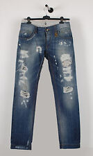 Original Dolce&Gabbana Main Line 14 Blue Men Jeans in size 50