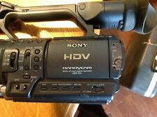 Sony Hdv Handycam Hdr-Fx1 - Hdv camera with case