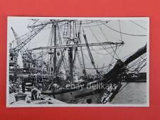 TRIESTE veliero nave ship vecchia cartolina