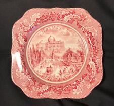 Johnson Brothers Historic America The Capital Plates -England (red transfer)